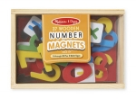 MD Magnetic Wooden Numbers image