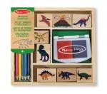 MD Dinosaur Stamp Set image