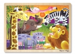 MD African Plains Wooden Jigsaw Puzzle - 24 Pieces image