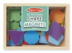 MD Magnetic Wooden Shapes and Colors image