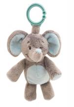 My Teddy Elephant m/hringlu blár image