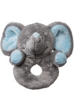 My Teddy Elephant mjúk hringla, blá  image