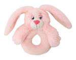 My Teddy Baby Bunny mjúk hringla, bleik image