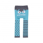 DP Leggings Blue monster, S (3-12m) image