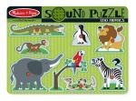 MD Zoo Animals Sound Puzzle image