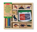 MD Dinosaur Stamp Set image