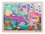 MD Mermaid Fantasea Wooden Jigsaw Puzzle - 48 pieces image