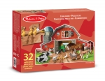 MD Busy Barn Yard Shaped Floor Puzzle - 32 Pieces image