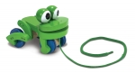 MD Frolicking Frog Pull Toy image