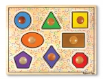 MD Large Shapes Jumbo Knob Puzzle - 8 pieces image