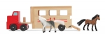 MD Horse Carrier Wooden Vehicles Play Set image