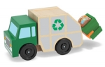 MD Garbage Truck Wooden Vehicle image