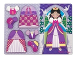 MD Princess Dress-Up Chunky Puzzle - 11 pieces image