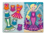 MD Mermaid Dress-Up Chunky Puzzle - 9 pieces image