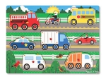 MD Vehicles Peg Puzzle - 8 Pieces image