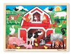 MD Barnyard Buddies Wooden Jigsaw Puzzle - 24 Pieces image