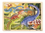 MD Dinosaur Wooden Jigsaw Puzzle - 24 Pieces image