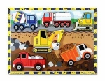 MD Construction Chunky Puzzle - 8 Pieces image