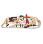 MD Wooden Railway Set image