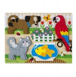 MD Chunky Jigsaw Puzzle - pets  image