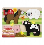 MD Chunky Jigsaw Puzzle - Farm Animals image