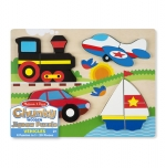 MD Chunky Jigsaw Puzzle - Vehicles image