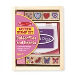 MD Butterfly and Hearts Stamp Set image