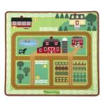 MD Round the Farm Rug - Sveitabæjar motta image