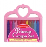 MD Princess Crayon set, vaxlitir image