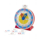 MD Turn & Tell Wooden Clock image