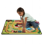 MD Round The Rails Train Rug  image